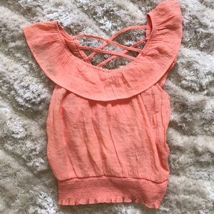 Adorable smocked Top